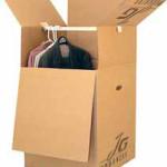 Cajas de cartón para trajes y ropa
